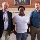 NaKarsha Bester and Don Hendon with their mentor Dr. Whalin